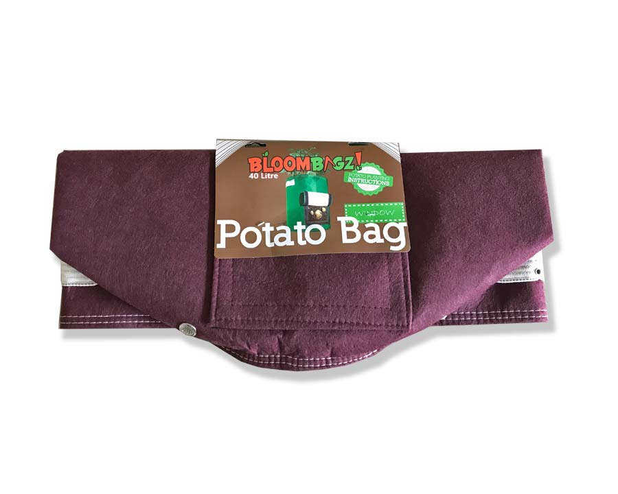Bloombagz Potato Grow Bag - New colour Plum/Brown