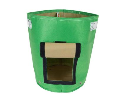 Bloombagz potato grow bag - Green - please note the new green is much lighter/fresher green