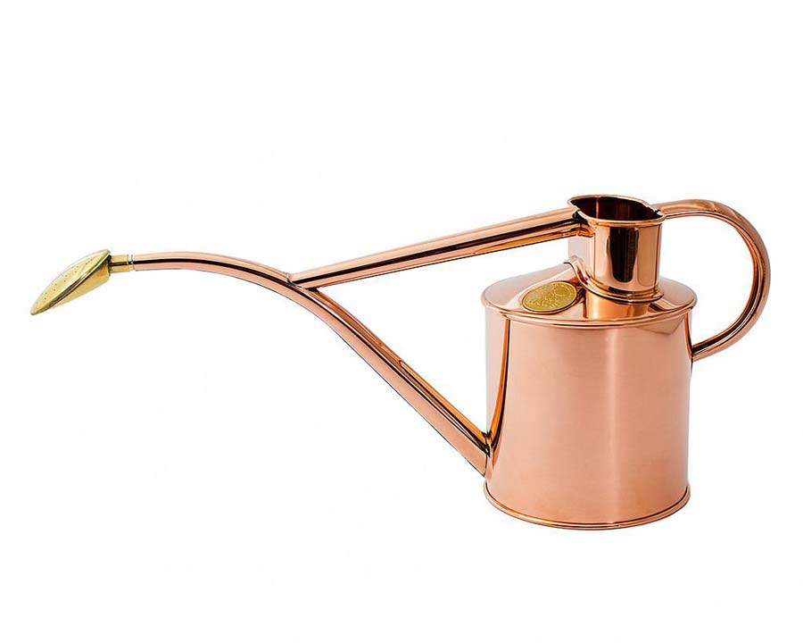 Copper - Rowley Ripple Watering Can - 1L - Haws