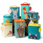 Creatureware Range of Animal Stuff Tins Burgon and Ball