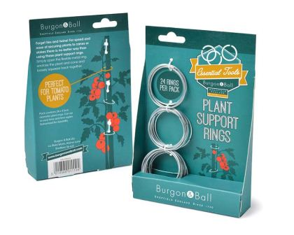 Plant Support rings by Burgon and Ball
