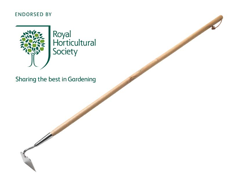 Long Handled Draw Hoe by Burgon & Ball - RHS endorsed