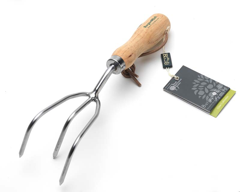 Claw Cultivator - part of the Burgon and Ball range of Stainless RHS Endorsed Hand Tools