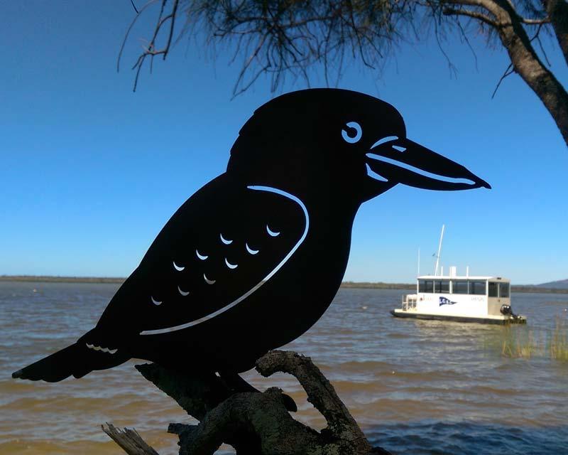 Kookaburra - decorative art