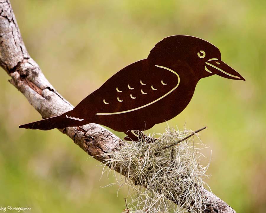 Kookaburra - decorative garden art