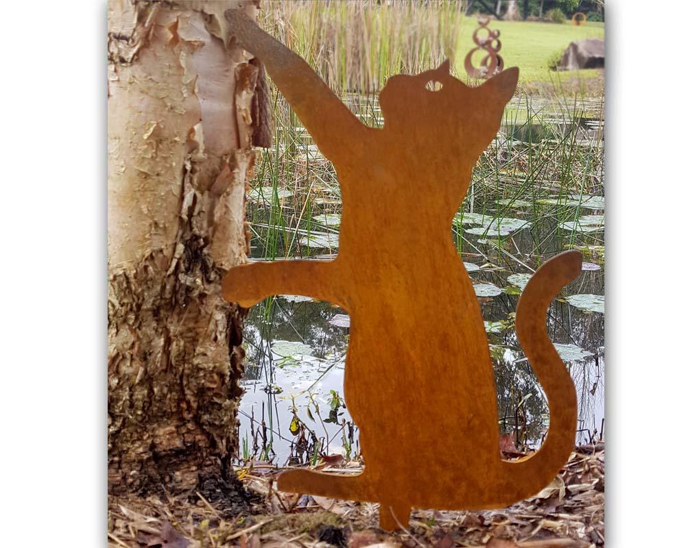 Cat - decorative garden art