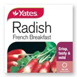 Radish French Breakfast - Yates Seeds