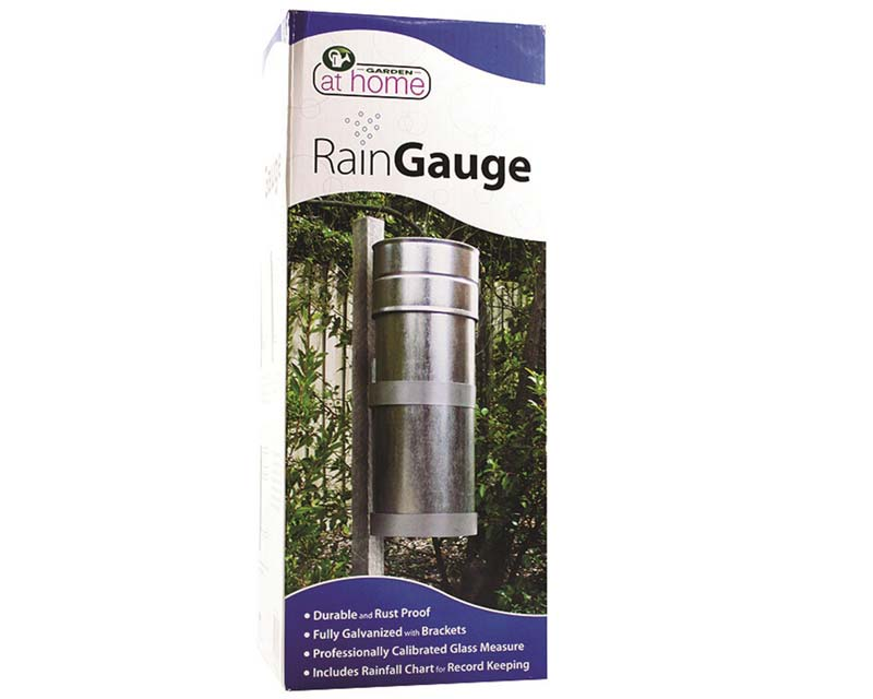 Galvanised Rain Gauge