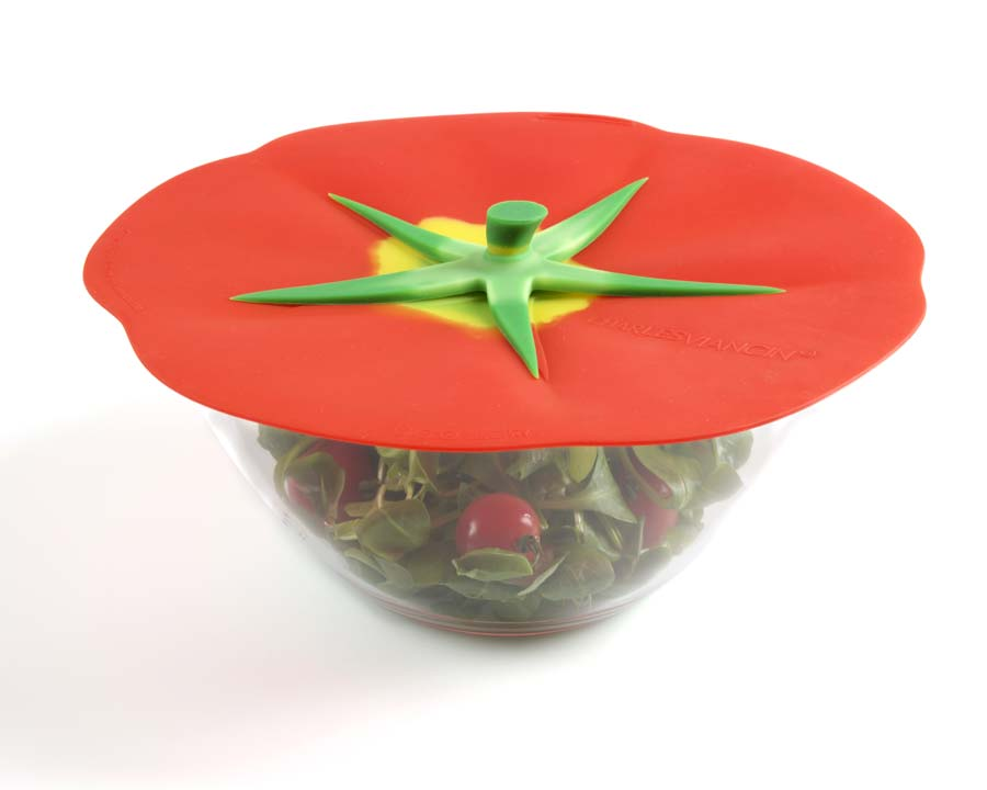Charles Viancin - Tomato Lids - Available in Large, Medium, Medium Small, Small and drink covers