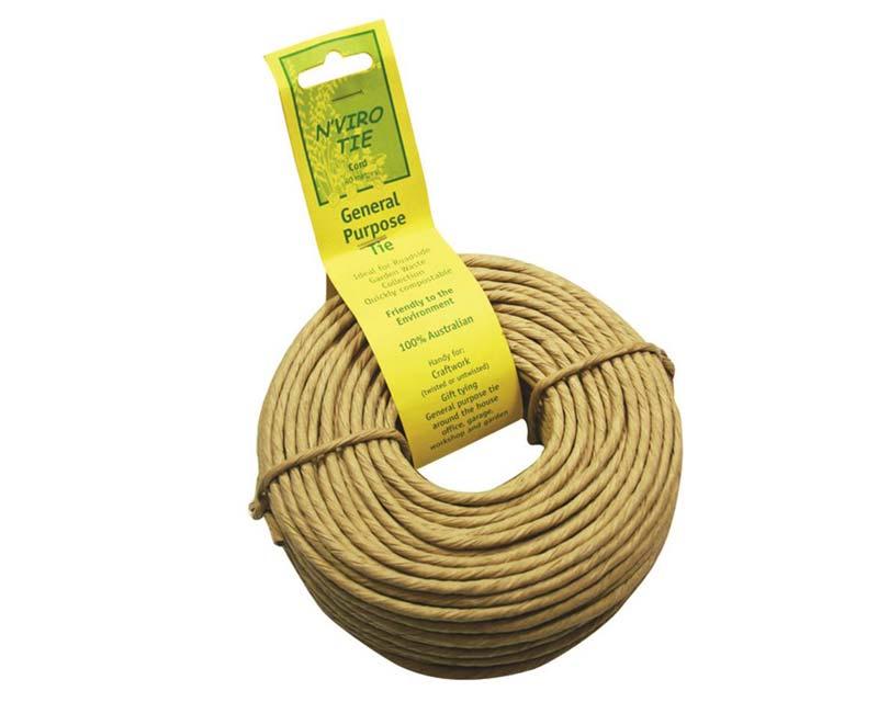 N'viro Tie - 40 meters of biodegradable and compostable twine