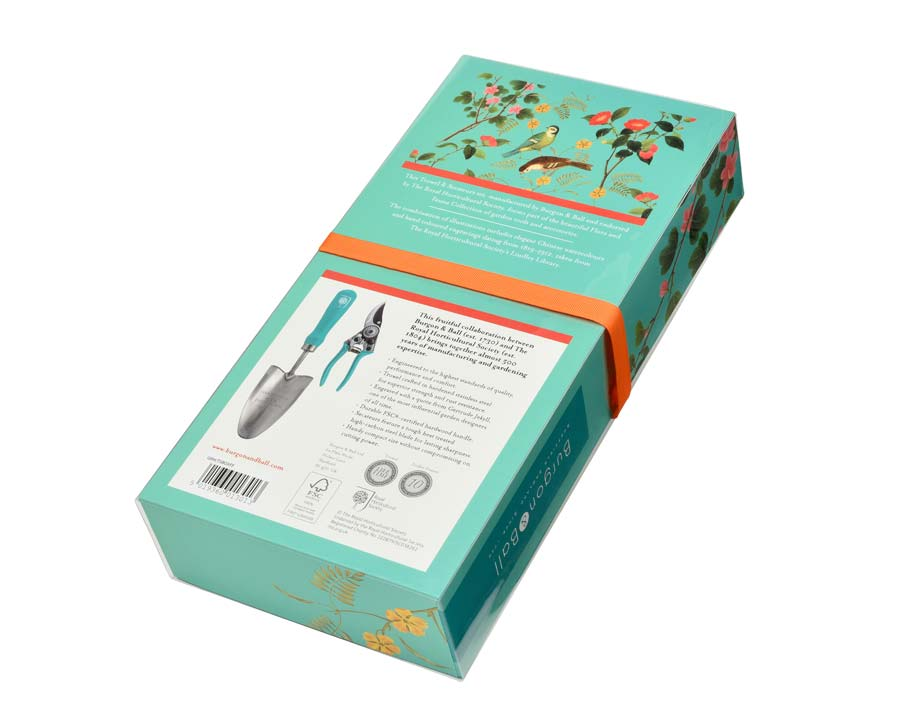 RHS endorsed Flora and Fauna Trowel and Secateur gift set