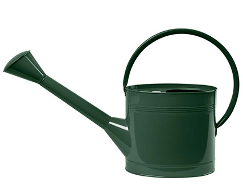 Waterfall Watering Can 5l - British Racing Green