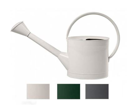 Waterfall Watering Can 5l Stone also available in British Racing Green, Slate and Sage