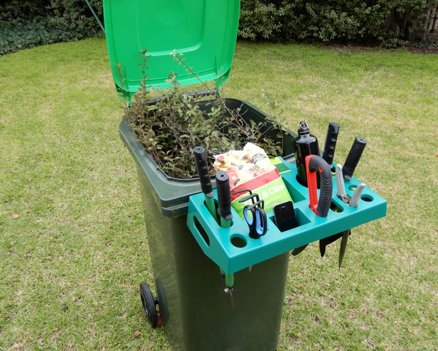 Charmant Wheelie Bin Garden Caddy