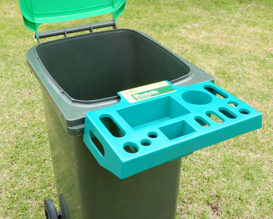 Wheelie Bin Garden Caddy