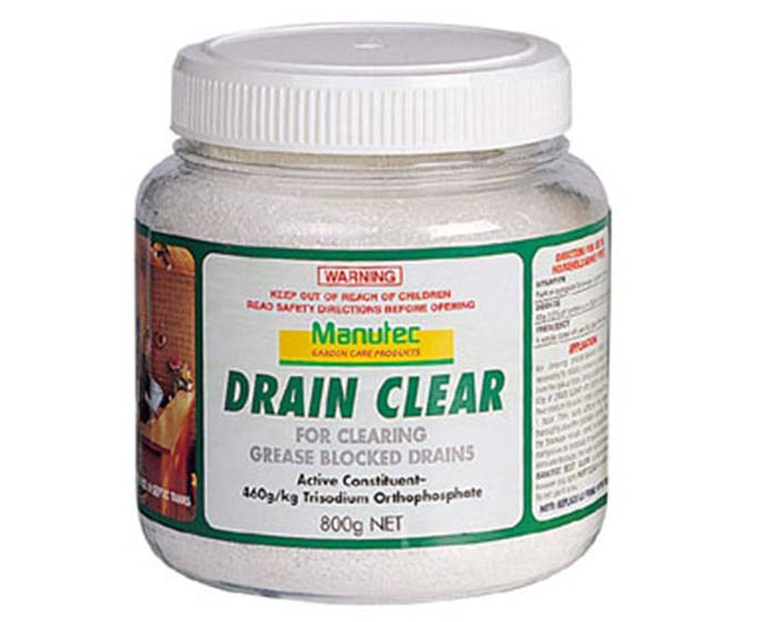 Drain Clear Crystals by Manutec