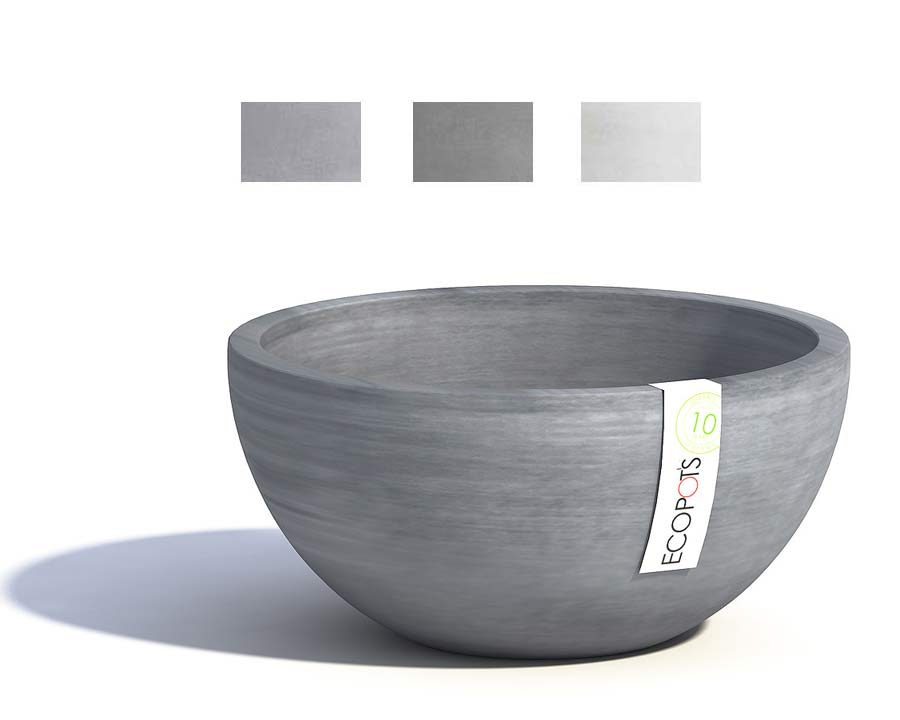 Brussels in Blue Grey part of the Ecopot range  also available in Grey, and White Grey