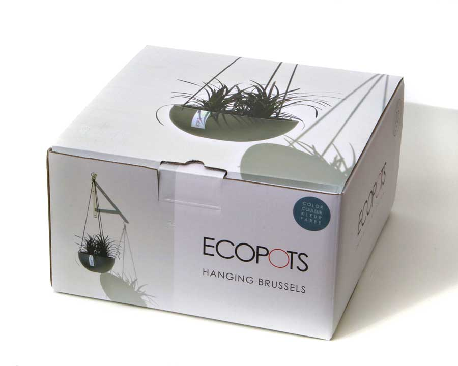 EcoPot Hanging Brussels - packaging