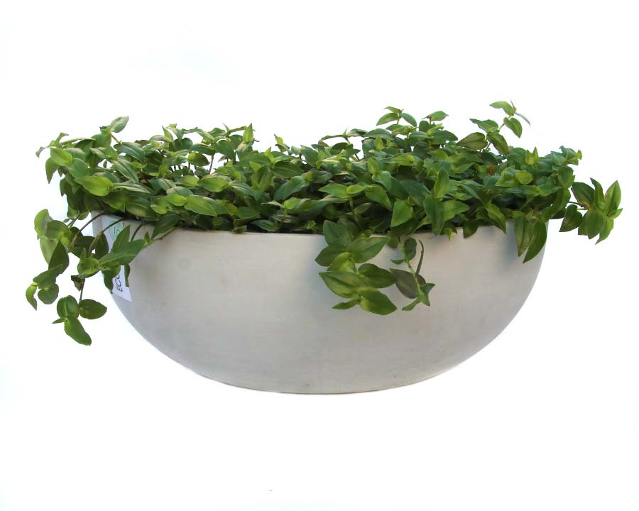 Sofia wall mounted Ecopot - White Grey