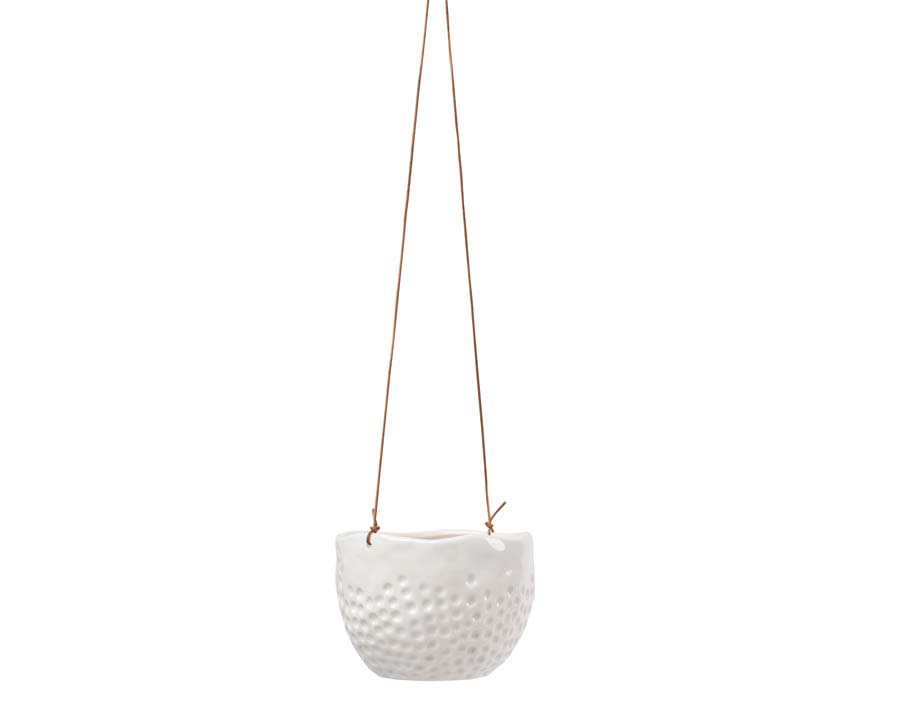 New range of hanging pots from Burgon and Ball - this is Dot