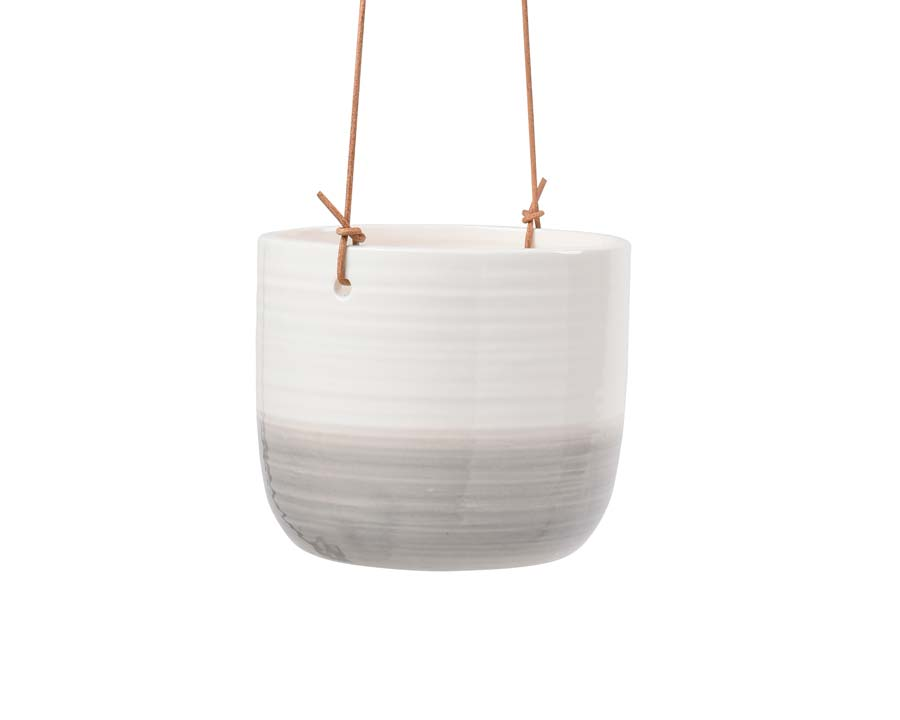 New range of hanging pots from Burgon and Ball - this is Ripple