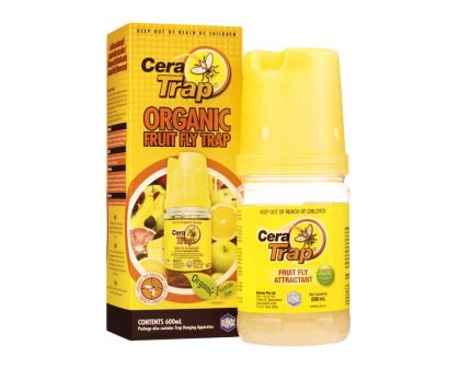 Cera Trap Organic Fruit Fly Trap - Amgrow
