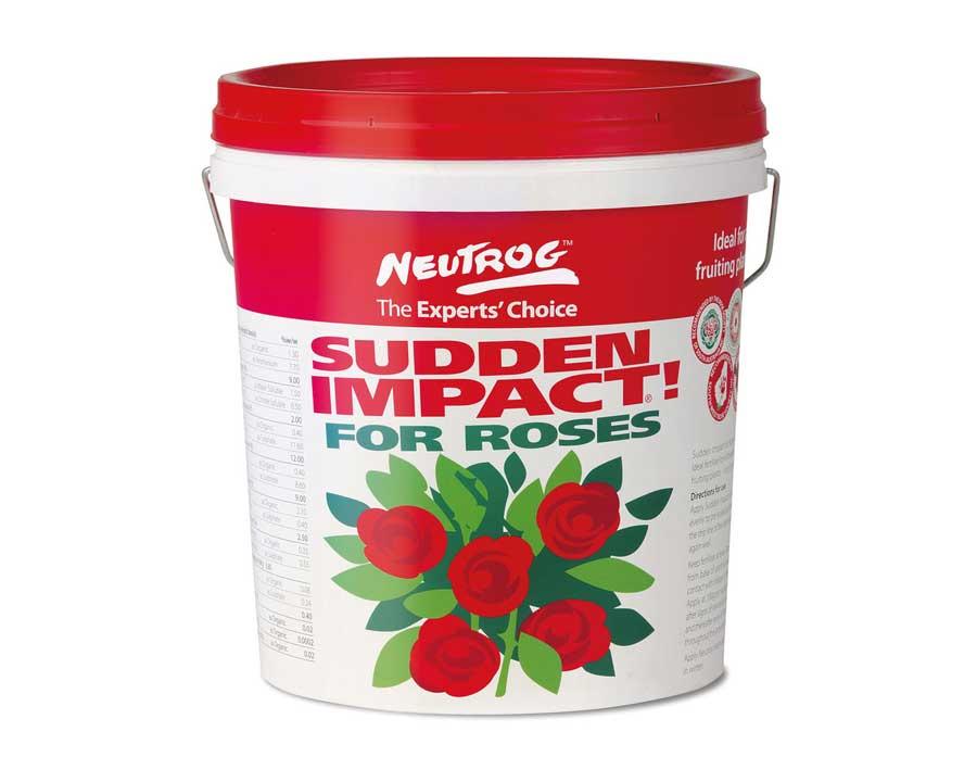 Sudden Impact for Roses - Neutrog