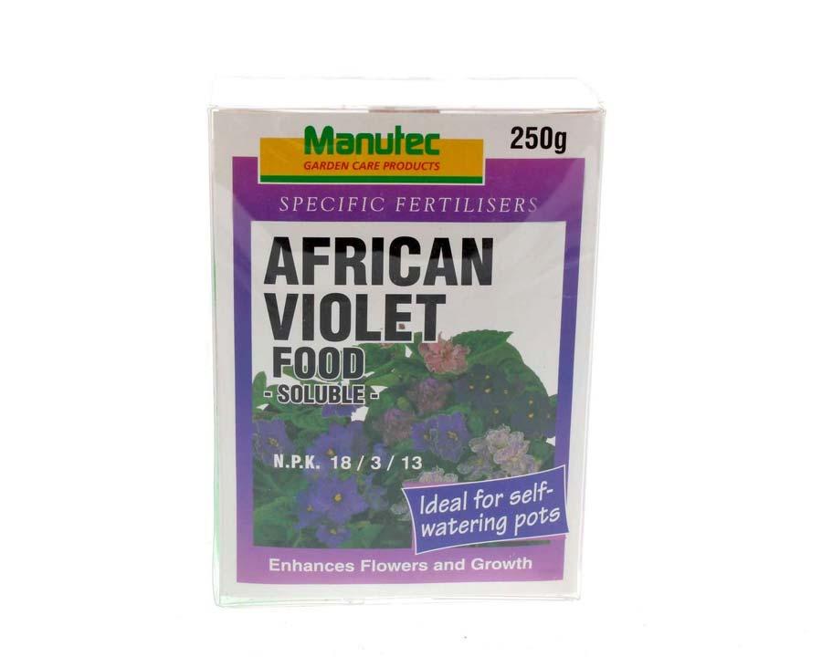 African Violet Food - Manutec