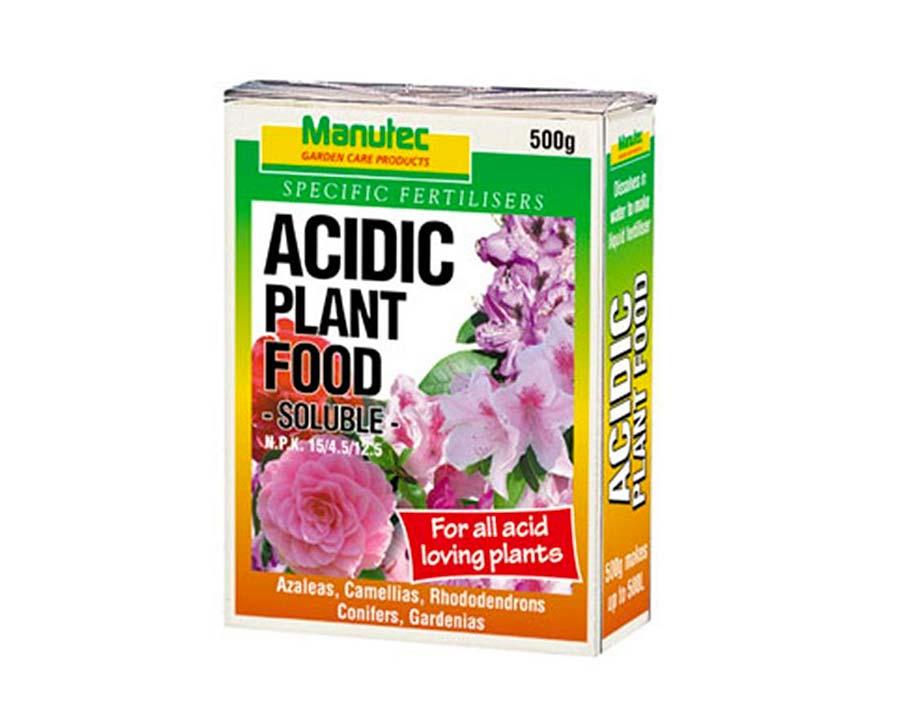 Acidic Plant Food - Manutec
