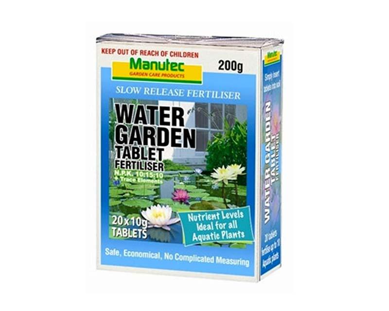 Water Garden Tablet Fertiliser - Manutec