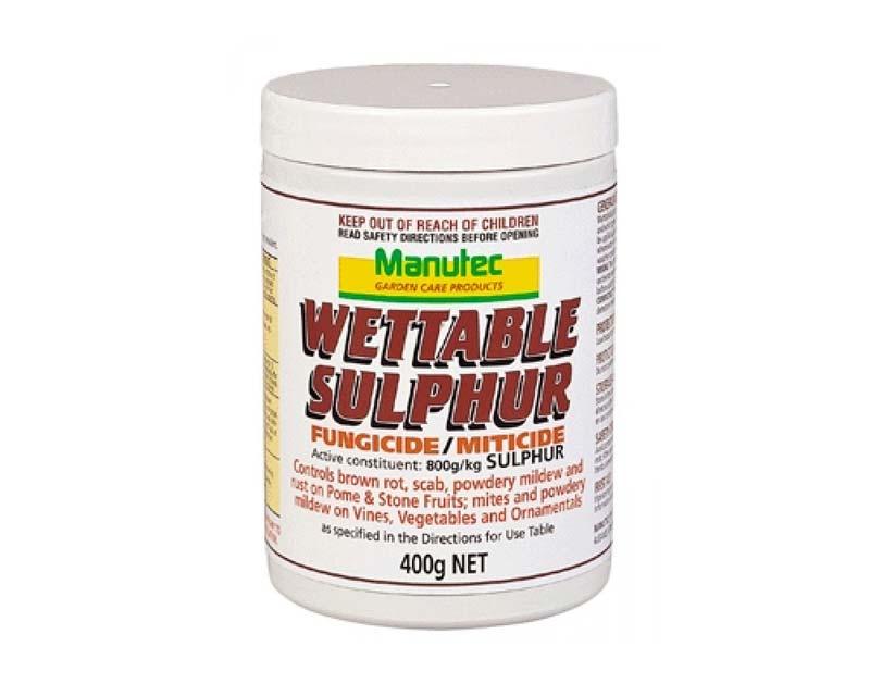 Wettable Sulphur - Manutec