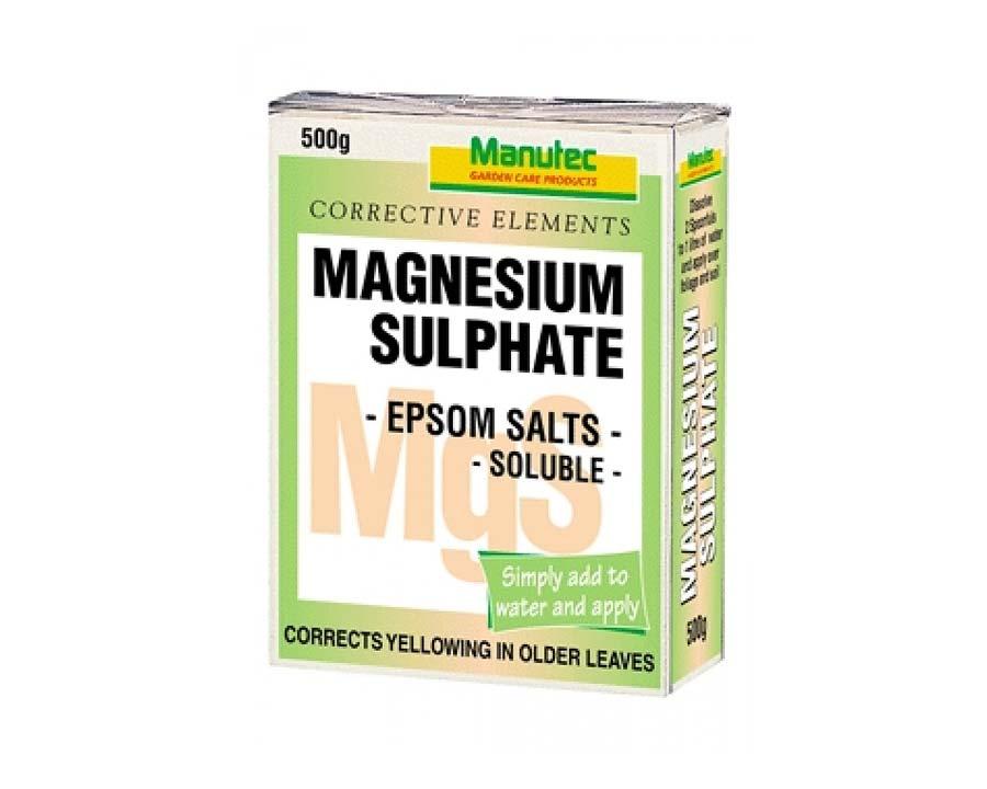 Magnesium Sulphate (Epsom Salts) - Manutec