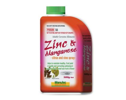 Zinc and Manganese citrus and vine spray - Manutec