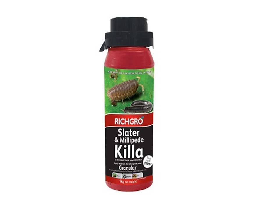 Slater and Millipede Killa - Richgro - new 1kg pack