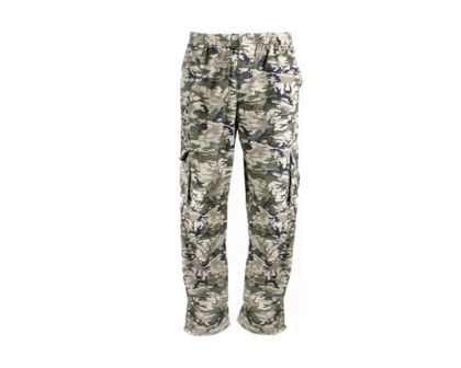 Camo pants - available in 7 sizes from S to 4XL