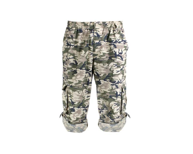 Camo Pants - Can be worn as shorts in hot weather.