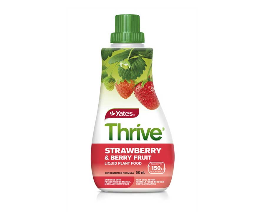 Thrive Liquid Strawberry and Berry Fruit Food - Yates