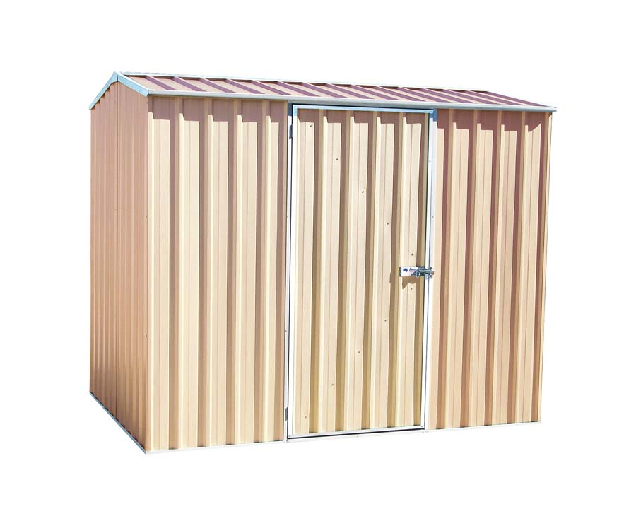 Premier SpaceSaver Storage Unit Kit - 2.26 x 1.52 x 2.08m in Paperbark