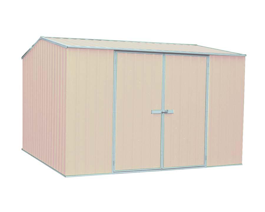 Premier Garden Shed Kit 3m x 2.26m x 2m in Paperbark