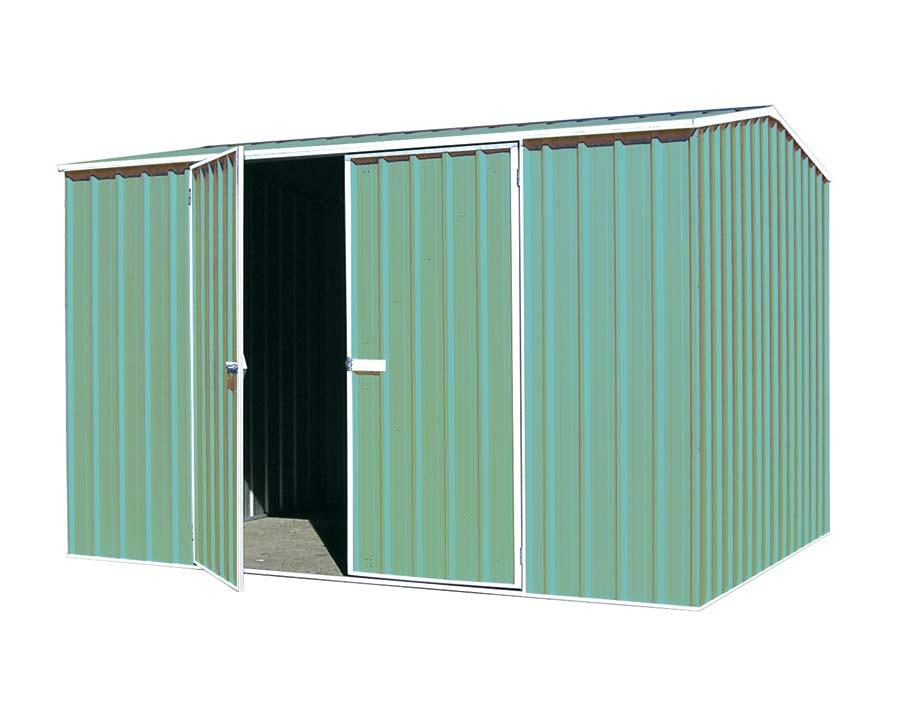 Premier Garden Shed Kit 3m x 2.26m x 2m in Pale Eucalypt