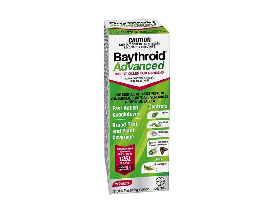 Baythroid Advanced Insect Killer for Gardens - 50ml Yates