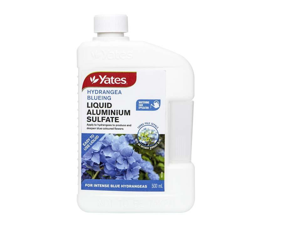 Yates Hydrangea Blueing Liquid Aluminium Sulfate