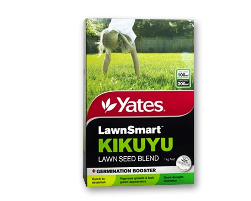 Lawnsmart Kikuyu Lawn Seed - Yates
