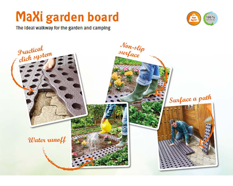 Maxi Interlocking Garden Boards