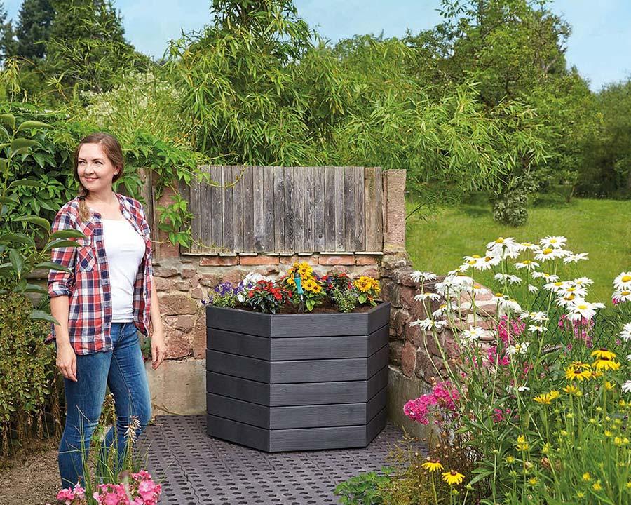 Ergo raised garden bed