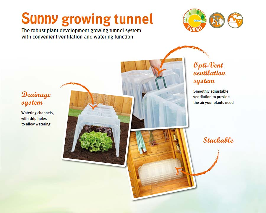 Sunny Growing Tunnel