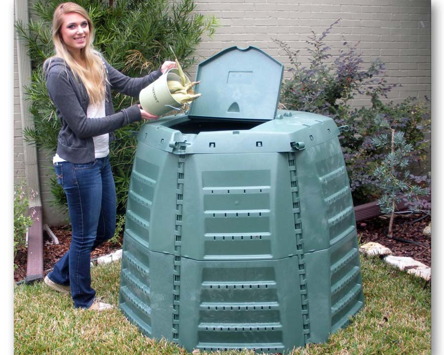 Thermo-Star 1,000 litre composter is also available