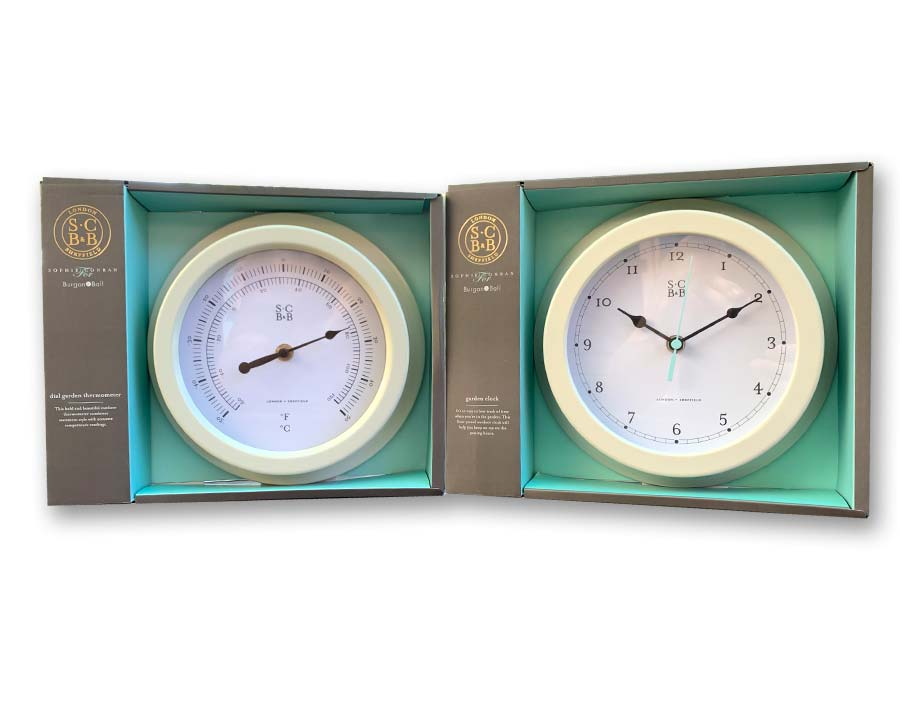 Clock and Thermometer - go so well together