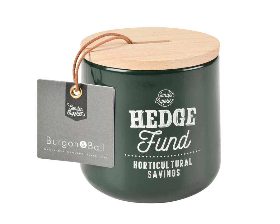 Hedge Fund Money Box in Frog - Burgon and Ball