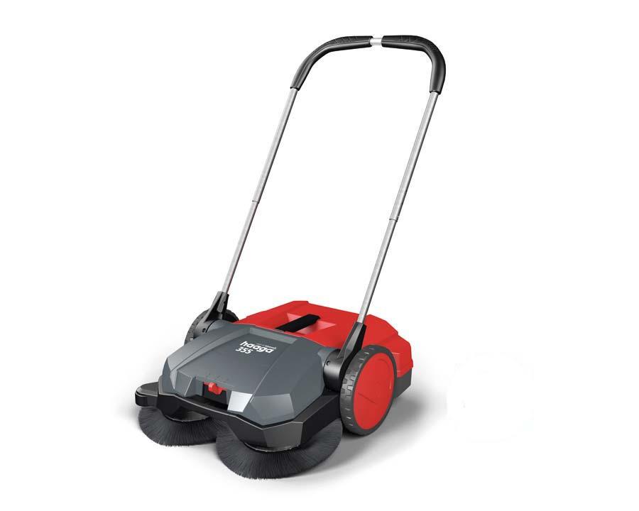 Haaga 355 sweeping machine
